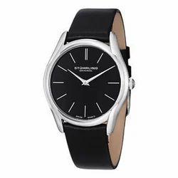Leather Mens Wrist Watch