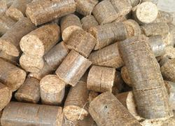 Bio Coal Briquettes Agriwaste, For Boiler, Round Cylindrical