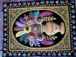 Zari Handicraft Wall Hanging