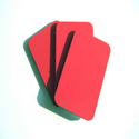 Red Composite Panel