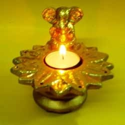 Ganesha T Light Holder  ( TL RHF - 41 )