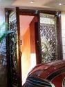 Wood And Brass Door