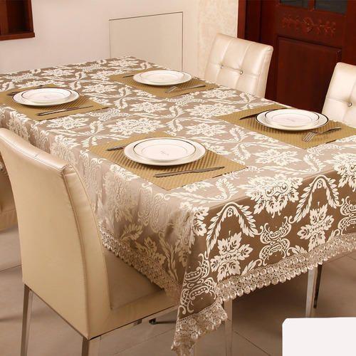 Sandex Corp Cotton Polyester Table Cloth, Size: 90 x 108cm