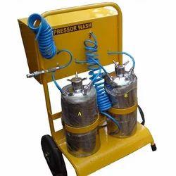 Double Cylinder Compressor Wash Rig