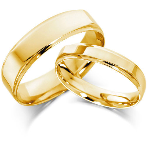 Gold Wedding Rings.Gold Wedding Couple Band T C Jewellers Wholesale Trader In Rk