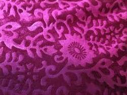 Printed Bright Velour Fabric