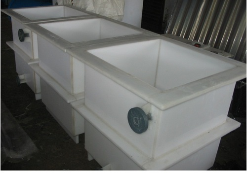 Plating Tanks With Scrubber System