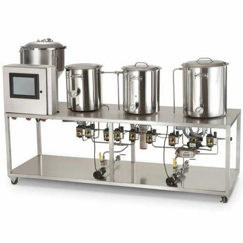 Mini Brewery Equipment Capacity Upto 1000 L Rs 3500000