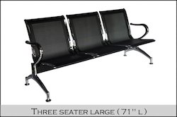 Stainless Steel Three Seater