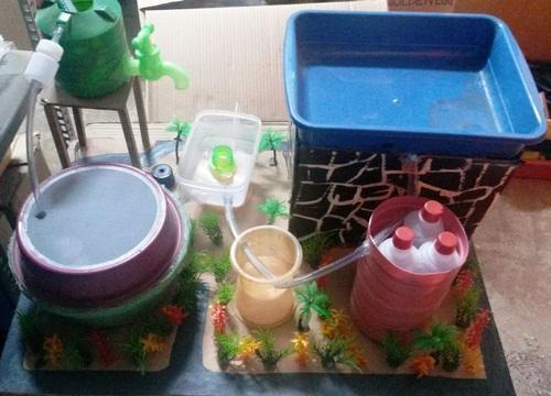Rain Water Filtration Plant For Science Projects No Of