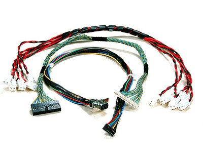 custom cable harness, कस्टम केबल हार्नेस view DMP Harness Cables