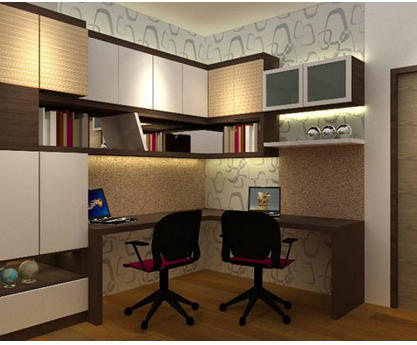 Cupboard Designs Study Room