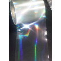 Holographic Overlay Rainbow For Zebra, Evolis Card Printers