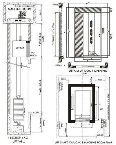 Capsule Glass Elevator Hospital Lift Plan Manufacturer From Jaipur