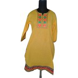 Casual Embroidered Kurti