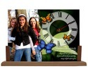 Photo Frame Table Clock