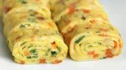 Egg Omelette Roll