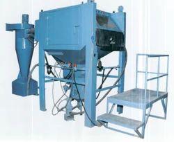 Cabinet Type Pressure Blast Sand Blasting Machine