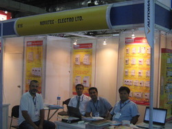Novatek Electro At Automation 2012 Expo