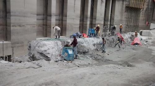 Concrete Cutting With Diamond Wire Saw in Jawahar Park, New Delhi ...