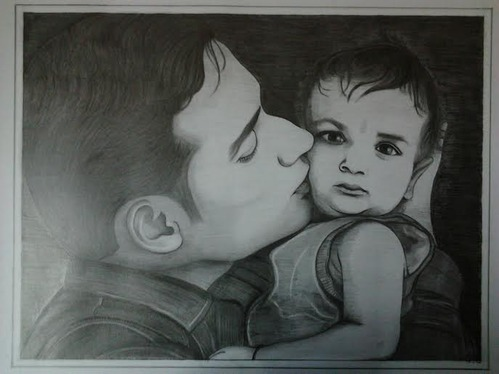 Pencil sketches lovely husband and wife pencil sketch manufacturer from chhindwara