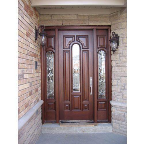 Glass Wooden Door