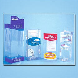 Tranparent Printed PVC Boxes