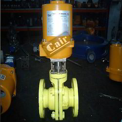 Motorized FEP Lined Ball Valve