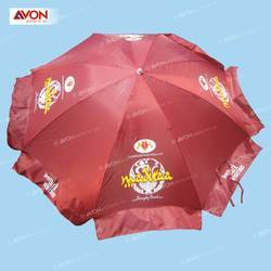 Red Madiraa Beach Umbrella, Size: 42 Inch