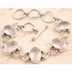 Prized Rose Quartz Bracelet