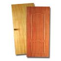 Wood Finish PVC Toilet Doors