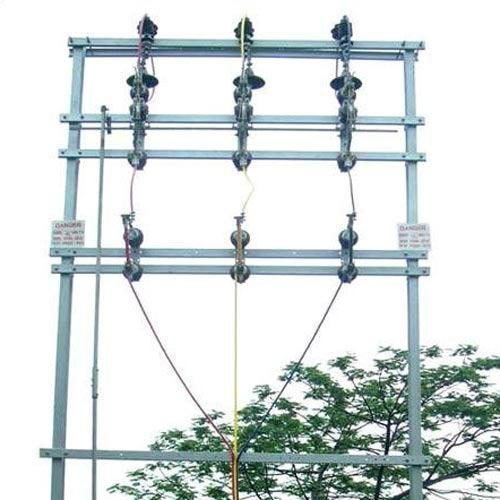Electrical Pole Structures Double Pole Structures