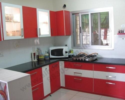 Kitchen Design Normal interior design - modular kitchen service provider from kolkata