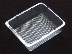 Rectangle Brownie PVC Tray