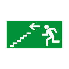 emergency exit stairs sign wwwpixsharkcom images