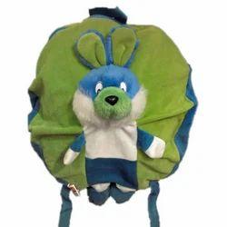 Green Fur Rabbit Bag