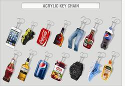 Acrylic Key Rings