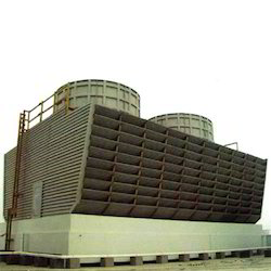 Timber Cross Flow Double Cooling Tower