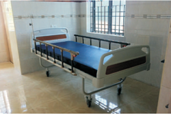 Adult Hospital Bed - 2 Section - Fowler Head Raising