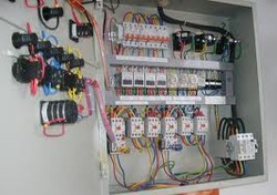 electrical control panel wiring in dombivli east thane sai rh indiamart com control panel wiring number standards control panel wiring symbols