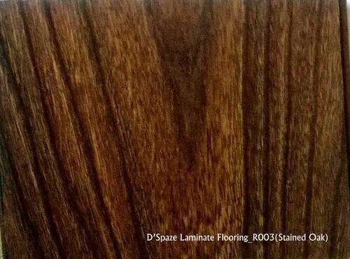 R003-Stained Oak Wood Laminate Flooring