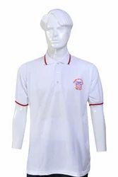 Plain Cotton Polo T-Shirts, Size: Medium