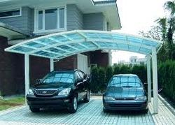 PVC Coated Car Parking Canopy & Pvc Coated Car Parking Canopy - View Specifications u0026 Details of ...