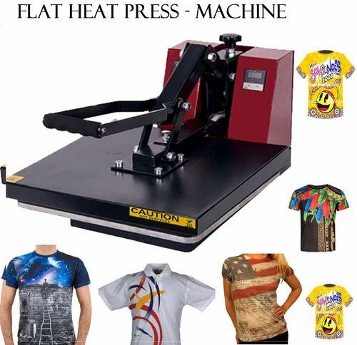 Flat Heat Press T Shirt Sublimation Printer - Samriddhi Retails ... 396de91e9