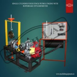 Four Stock Petrol Engine With Ropebrake Dynamometer