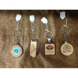 Printed Metal Key Chain