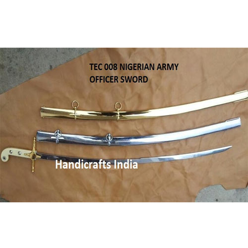 Ceremonial Army Swords - Army Officer Sword Exporter from