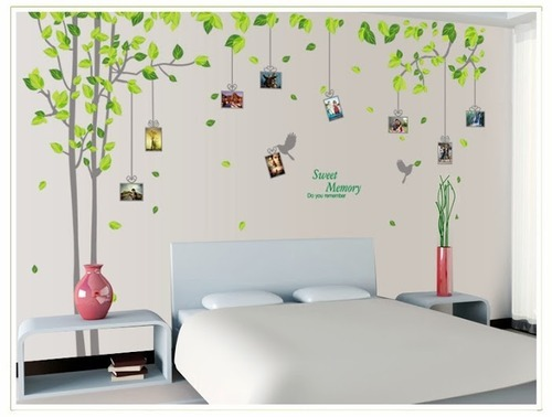 bed room wall sticker, barcode, stickers & luggage tags | sree