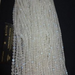 White Gemstone Beads