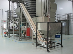 Elevator Conveyors for Food Industry